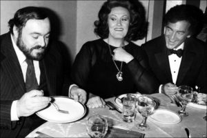 Pavarotti, Sutherland, and Bonynge, bel canto experts