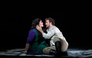 Leah Crocetto and Brian Jagde in Aida